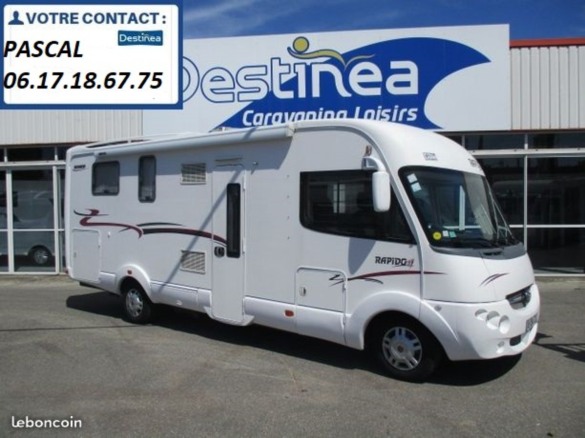 Camping-car RAPIDO Rapido 9092 df - lit central - chassis alko - p.l