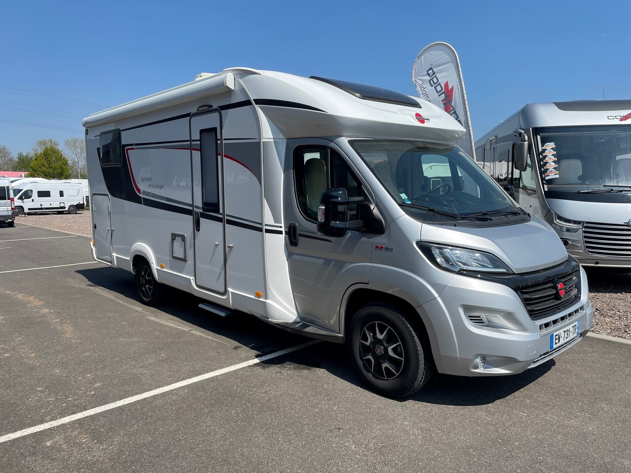 Camping-car BURSTNER LYSEO PRIVILEGE IT 728 G