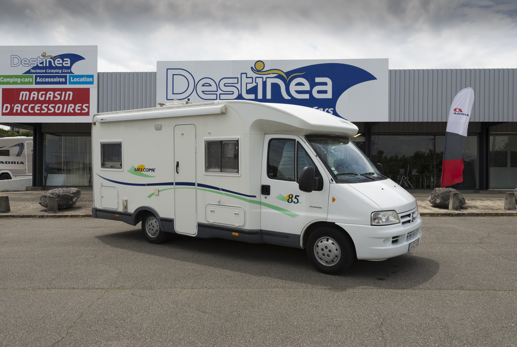 Camping-car CHAUSSON WELCOME 85