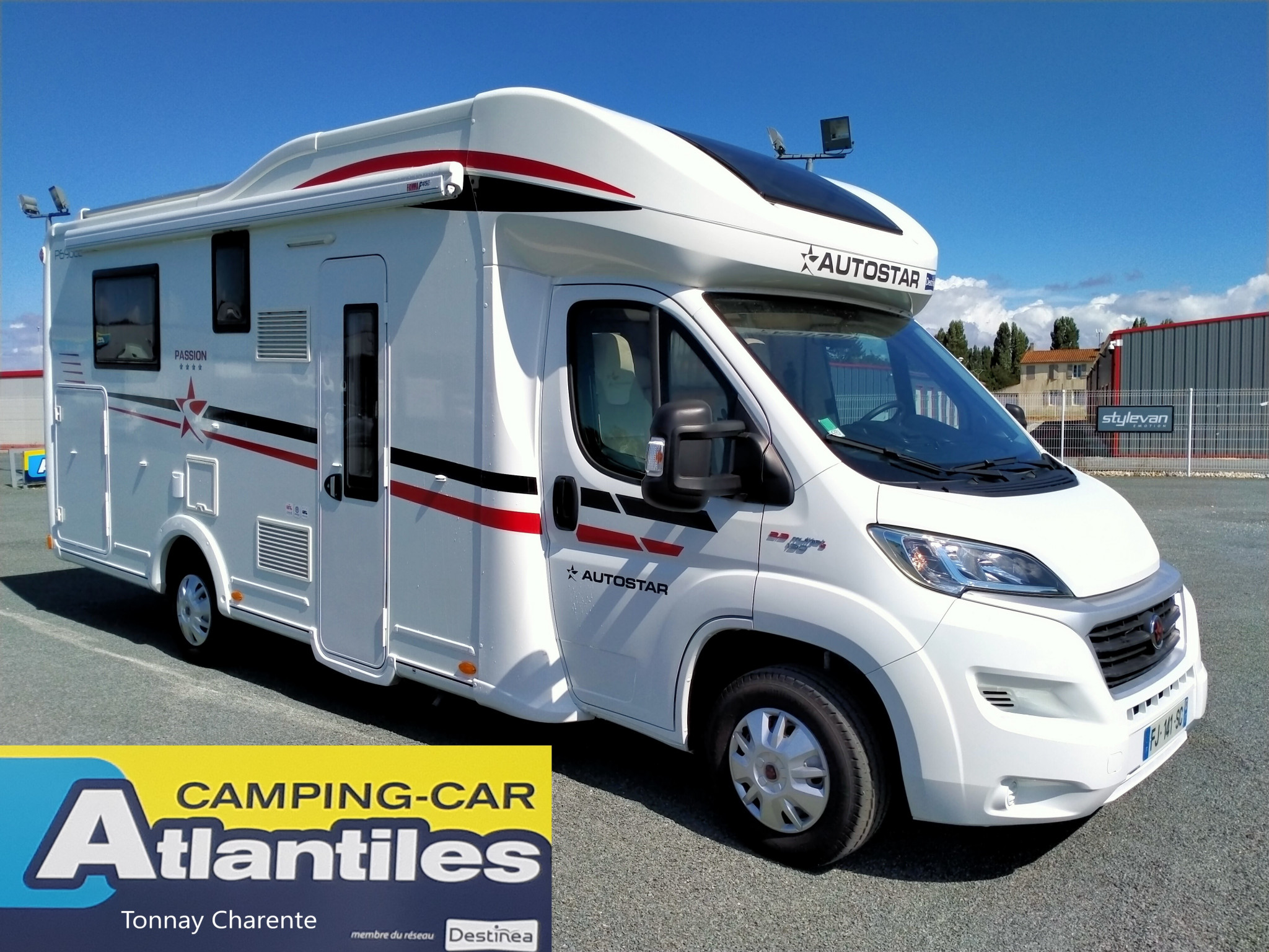 Camping-car AUTOSTAR P690 LC Lift Passion