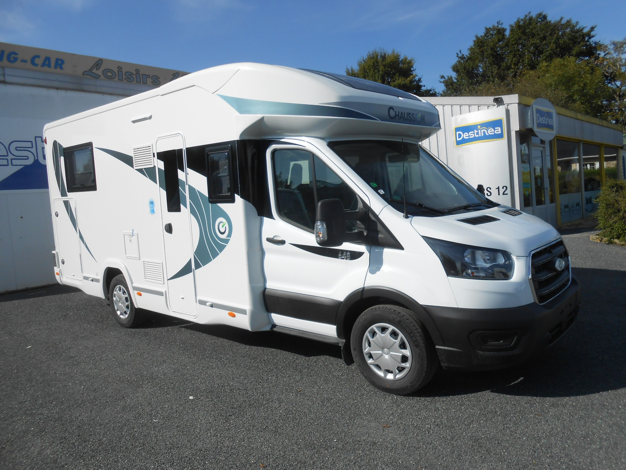 Camping-car CHAUSSON 648 FIRST LINE