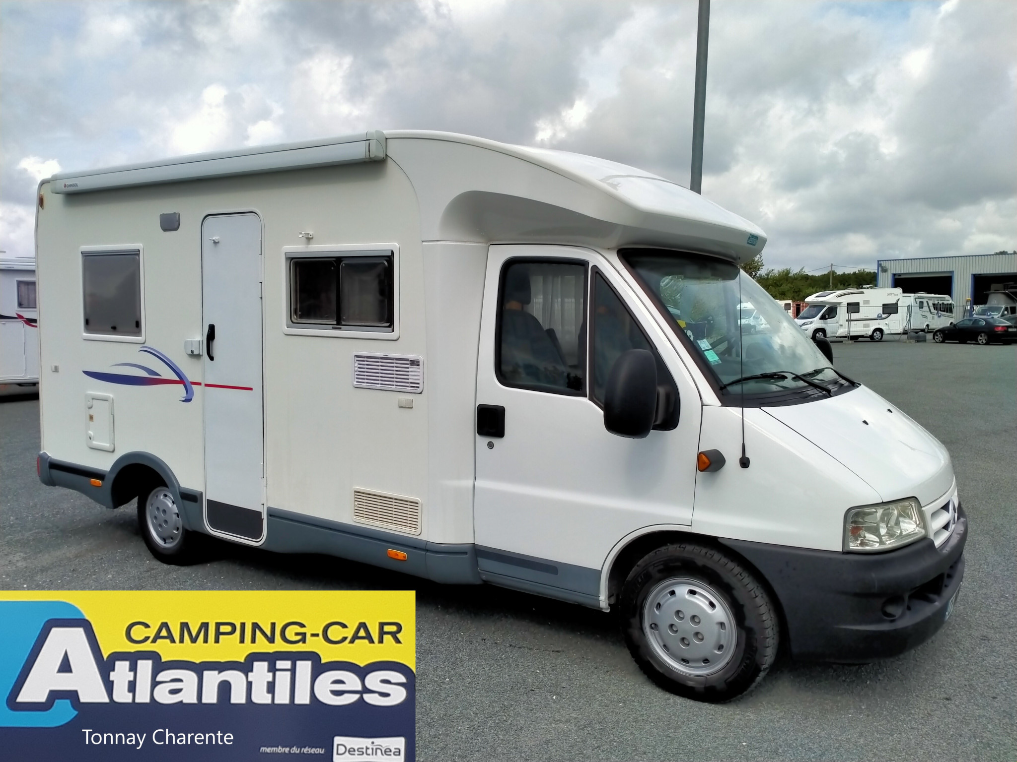 Camping-car CHALLENGER 101