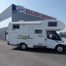 CHAUSSON FLASH 01 FORD TRANSIT 2.2 TDCI 130 CAPUCINE 2007
